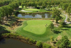 Golf Course On Kent Island a