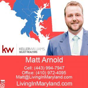Matt Arnold Annapolis Maryland Real Estate Agent